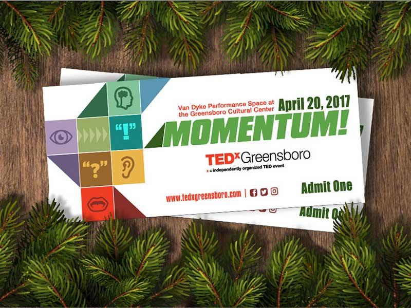 TEDxGreensboro 2017: Momentum