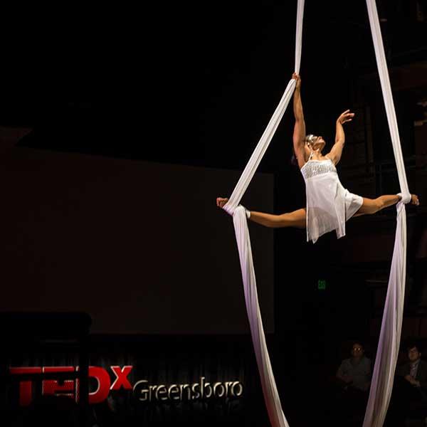 Sabrina Woods TEDxGreensboro 2015 Entertainer