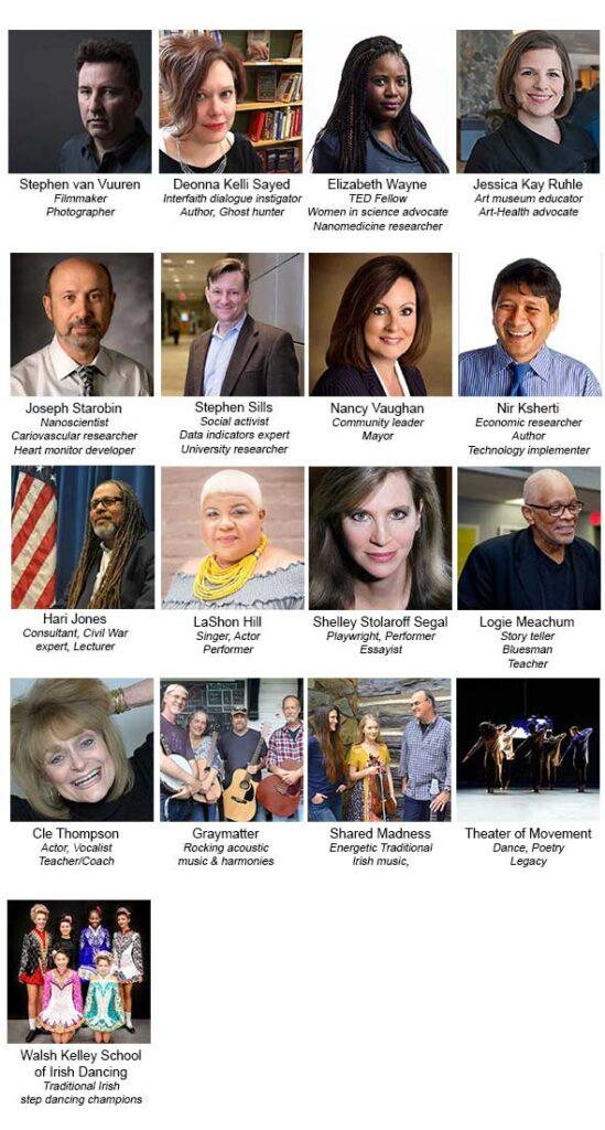 TEDxGreensboro 2018 Speakers