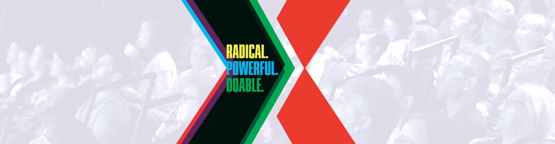 TEDxGreensboro 2016 Radical. Powerful. Doable.